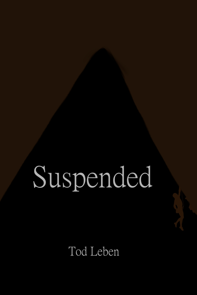 Suspended cover image by Tod Leben