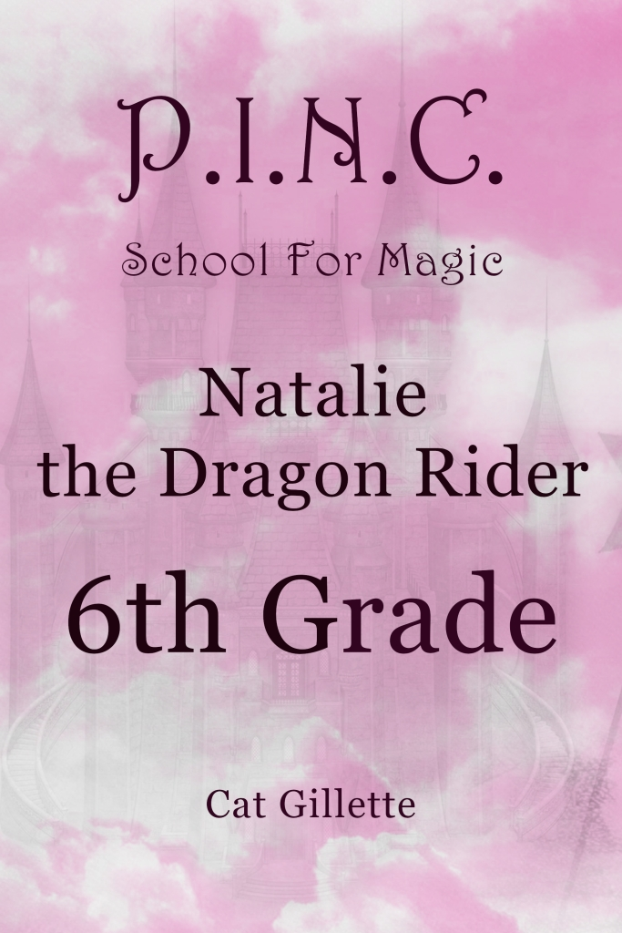 P.I.N.C. School for Magic Natalie the Dragon Rider 6th Grade by Cat Gillette front cover